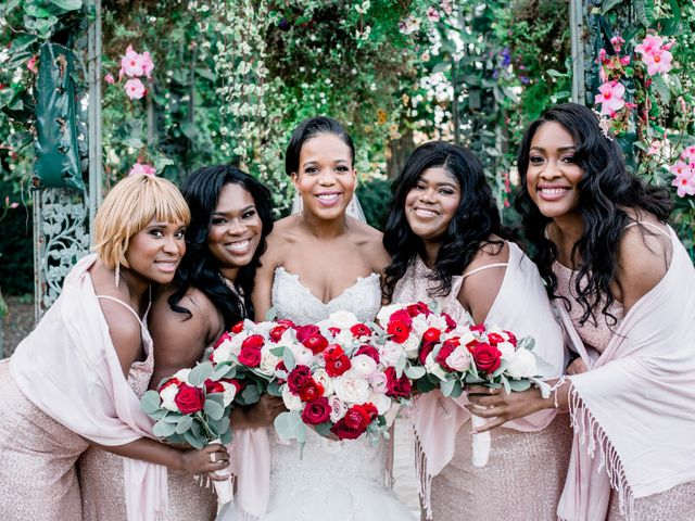Placide and Ashley's Wedding in West Orange, New Jersey 38