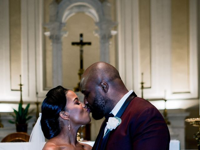 Placide and Ashley's Wedding in West Orange, New Jersey 39