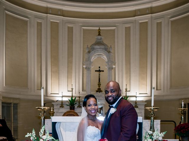 Placide and Ashley's Wedding in West Orange, New Jersey 40