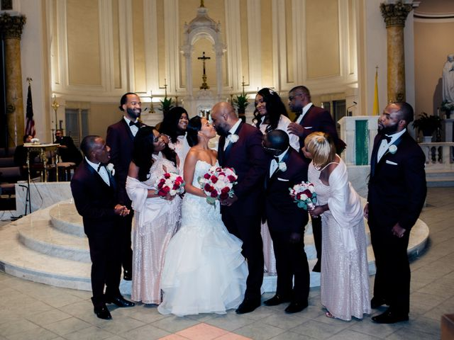 Placide and Ashley's Wedding in West Orange, New Jersey 41