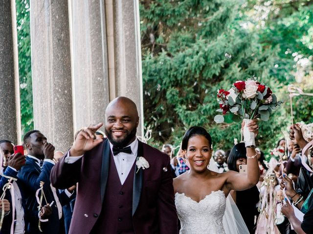 Placide and Ashley's Wedding in West Orange, New Jersey 42