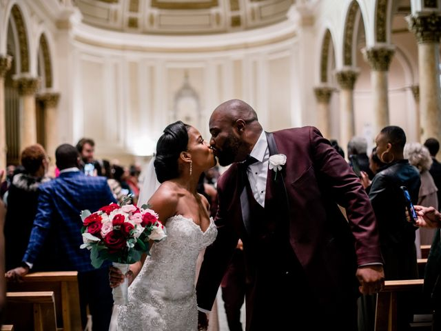 Placide and Ashley's Wedding in West Orange, New Jersey 43