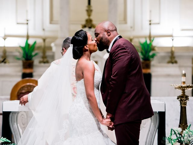 Placide and Ashley's Wedding in West Orange, New Jersey 45