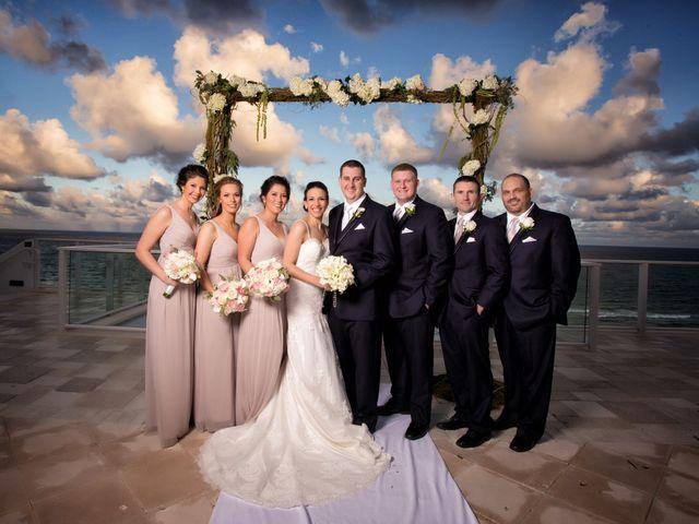 Henry and Ashlynn's Wedding in Hollywood, Florida 11