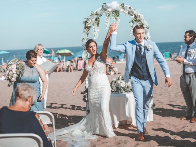 Kyle and Tiffany's Wedding in Long Branch, New Jersey 6
