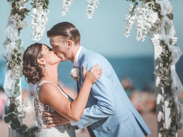 Kyle and Tiffany's Wedding in Long Branch, New Jersey 7