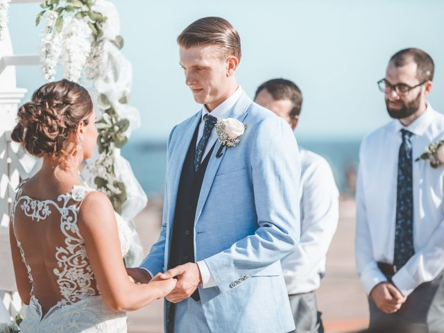 Kyle and Tiffany's Wedding in Long Branch, New Jersey 9