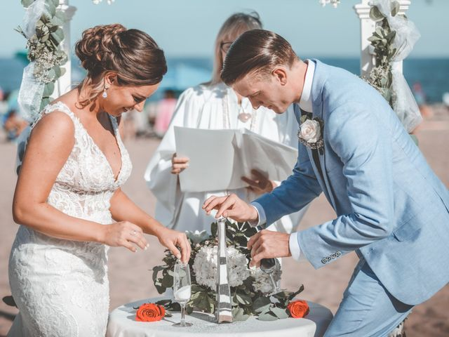 Kyle and Tiffany's Wedding in Long Branch, New Jersey 11