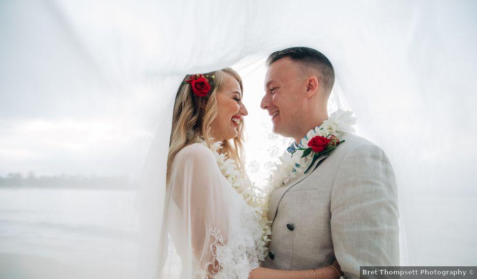 Christopher and Melissa's Wedding in Honolulu, Hawaii