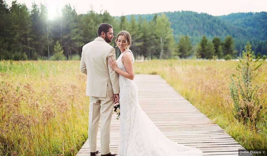 Cley and Kelsey's Wedding in Sandpoint, Idaho