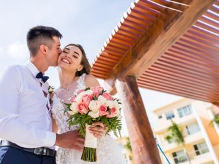 The wedding of Tetyana and Andrey