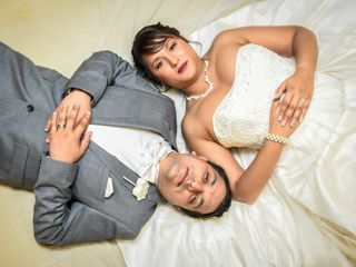 The wedding of Melissa and Safal