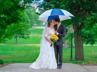 The wedding of Aaron and Mia