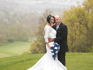 The wedding of Mary and Andrew