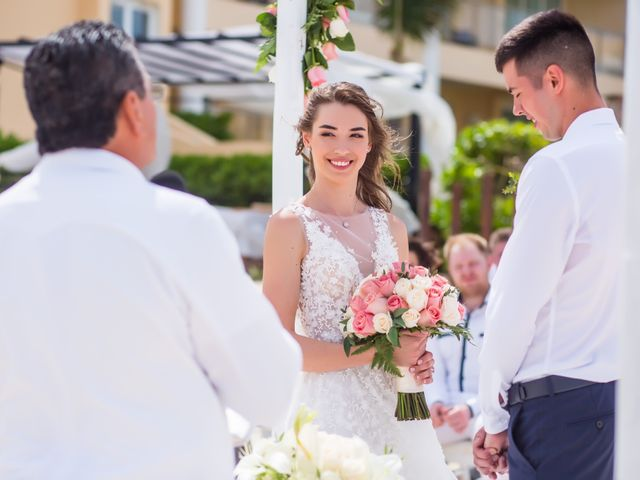 Andrey and Tetyana's Wedding in Cancun, Mexico 9