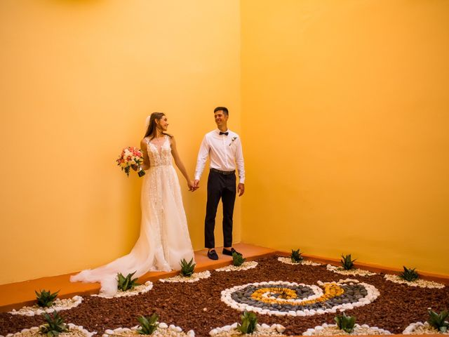 Andrey and Tetyana's Wedding in Cancun, Mexico 10