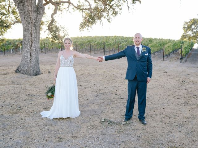 The wedding of Carter and Kristen