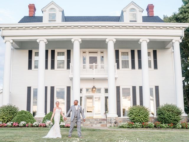 The wedding of Caroline and Greg