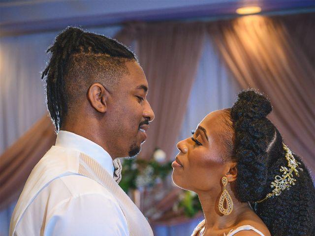 Shaneila and Brandon's Wedding in Orlando, Florida 13