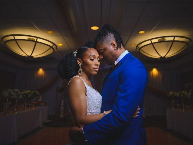 The wedding of Brandon and Shaneila