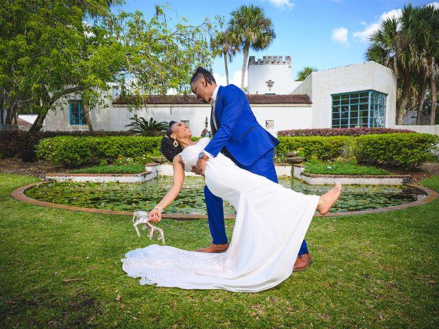 Shaneila and Brandon's Wedding in Orlando, Florida 20
