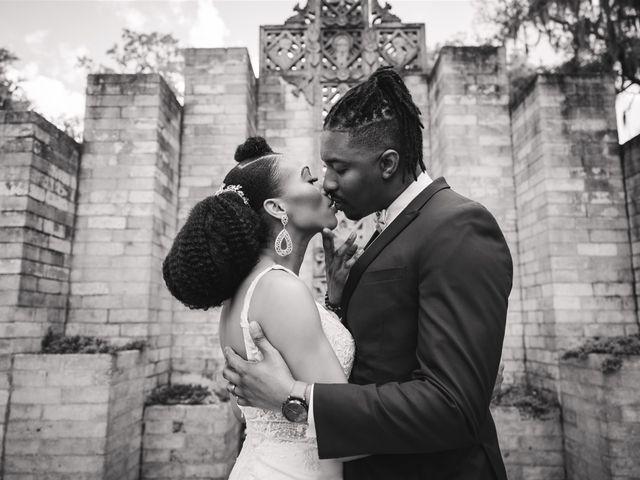 Shaneila and Brandon's Wedding in Orlando, Florida 21