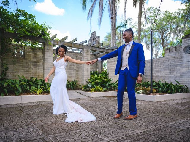 Shaneila and Brandon's Wedding in Orlando, Florida 23