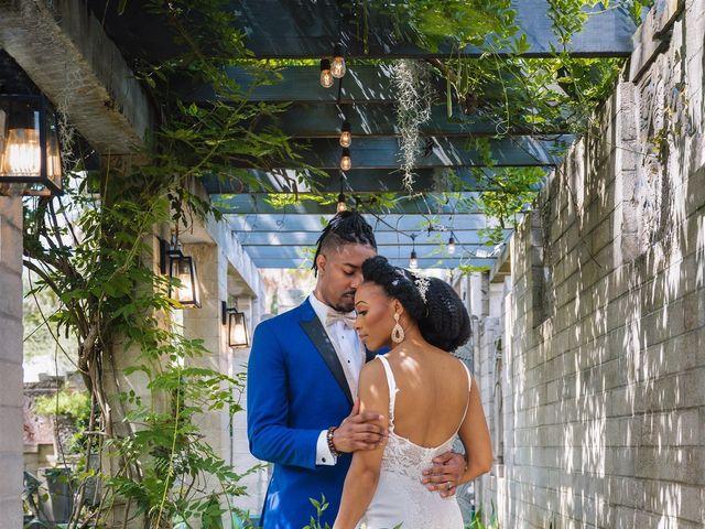 Shaneila and Brandon's Wedding in Orlando, Florida 25