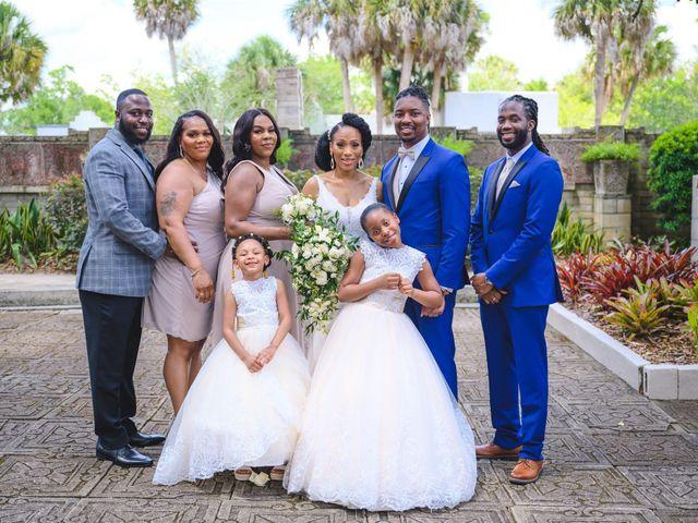 Shaneila and Brandon's Wedding in Orlando, Florida 29