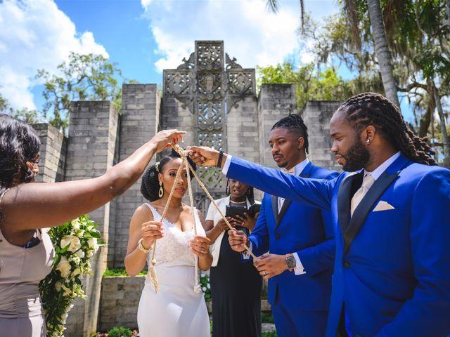 Shaneila and Brandon's Wedding in Orlando, Florida 30