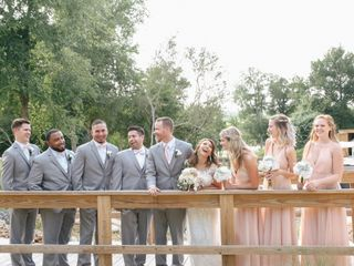 The wedding of Taylor and Quinton