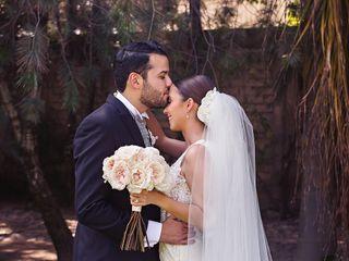 The wedding of Sara and Juan