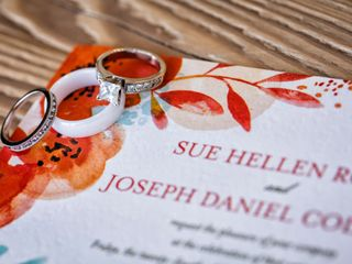 The wedding of Sue and Joseph 1
