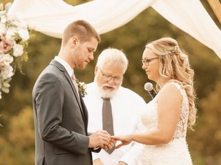 The wedding of Shannon and Ryan 1