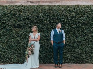 The wedding of Lindsay and Marcus