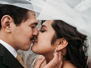 The wedding of Rae and Victor
