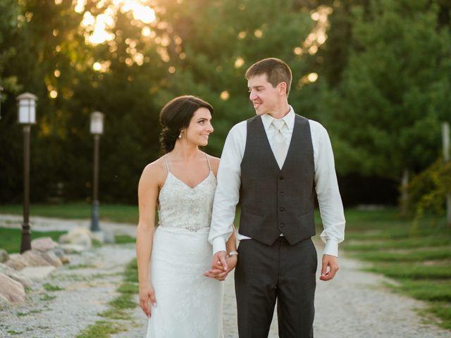 The wedding of Justin and Lauren