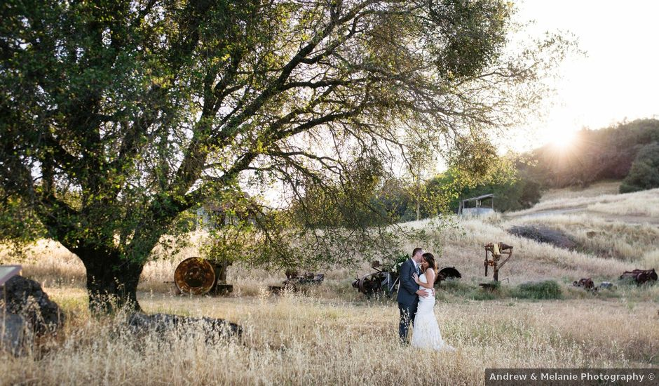 Seth and Emily's Wedding in Amador City, California