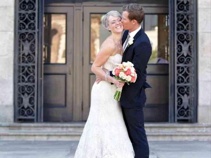 The wedding of David and Jessica