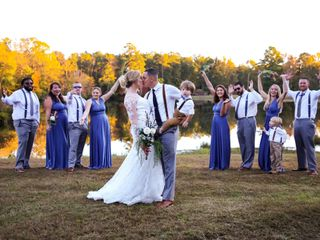 The wedding of Caitlyn and Dustin 1