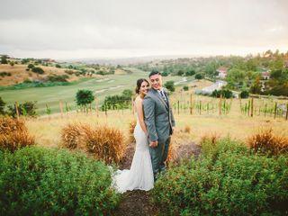 The wedding of Erika and Jaime