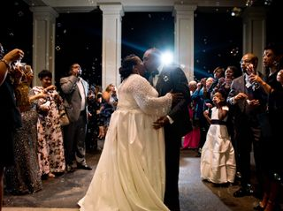 The wedding of Gwenetta and Curtis 1