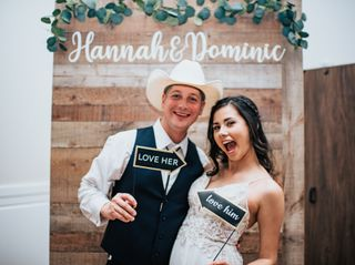 The wedding of Hannah and Dominic 2