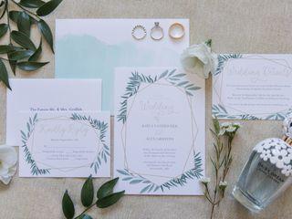 The wedding of Kayla and Alex 1