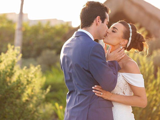 The wedding of Melanie and Arturo