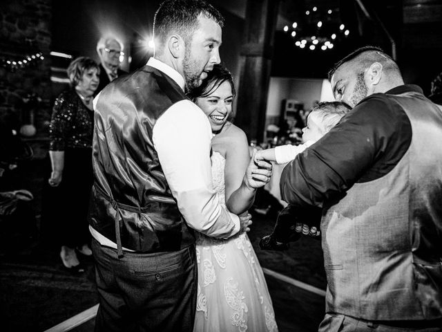 Chris and Ashley's Wedding in Ellicottville, New York 8
