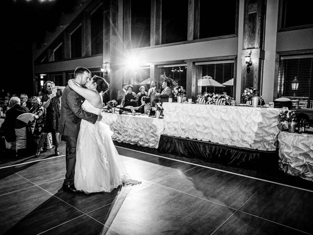Chris and Ashley's Wedding in Ellicottville, New York 13