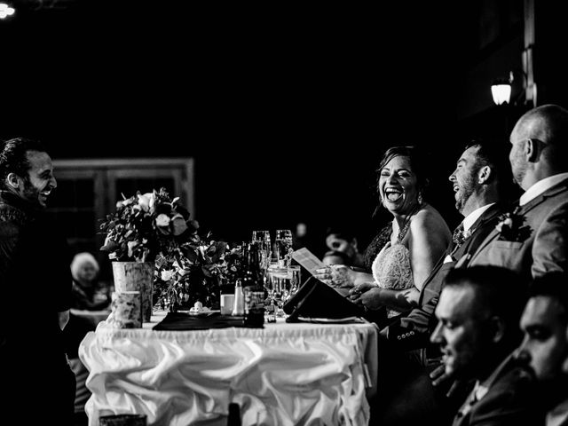 Chris and Ashley's Wedding in Ellicottville, New York 16
