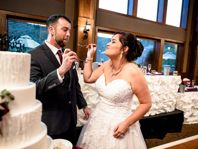 Chris and Ashley's Wedding in Ellicottville, New York 17
