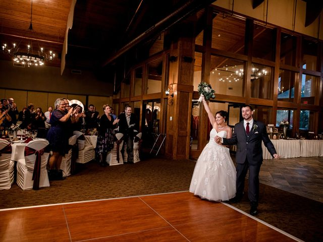 Chris and Ashley's Wedding in Ellicottville, New York 18